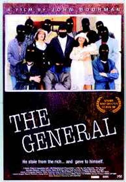 THE GENERAL (1998) ORIGINAL CINEMA POSTER