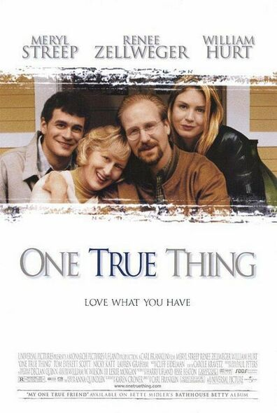 ONE TRUE THING (1998) ORIGINAL CINEMA POSTER