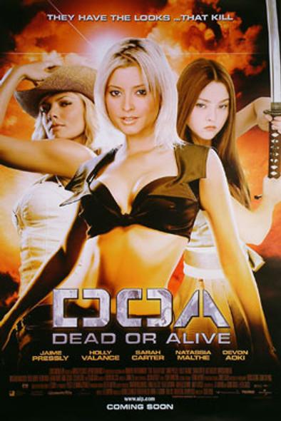 DOA: DEAD OR ALIVE (Regular) (2006) ORIGINAL CINEMA POSTER