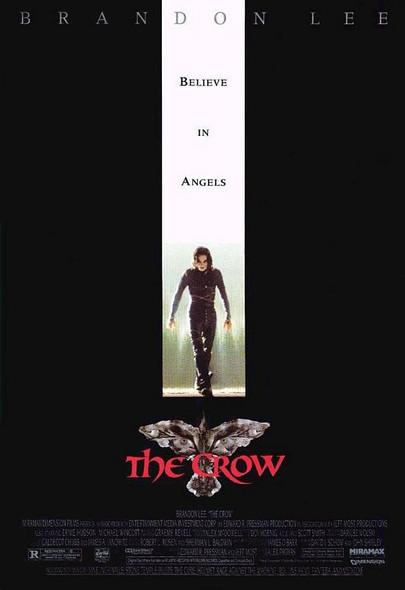 THE CROW (Reprint) (1994) REPRINT CINEMA POSTER