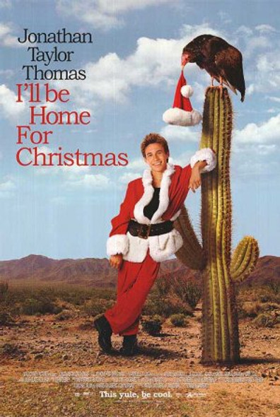 I'LL BE HOME FOR CHRISTMAS (DOUBLE SIDED Regular) (1998) ORIGINAL CINEMA POSTER