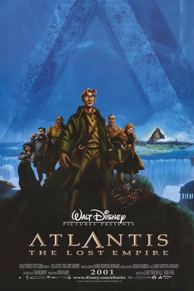 ATLANTIS (Regular Reprint) (2001) REPRINT CINEMA POSTER