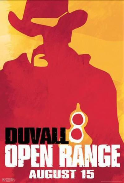 OPEN RANGE (SINGLE SIDED Advance Portrait) (2003) ORIGINAL CINEMA POSTER