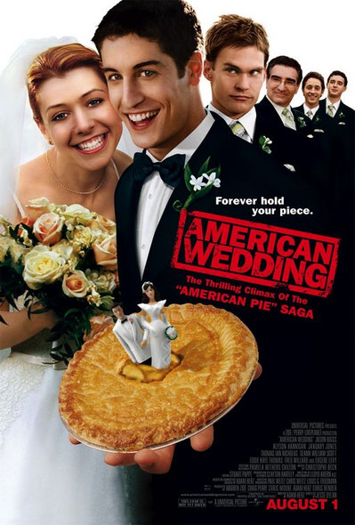 AMERICAN WEDDING (DOUBLE SIDED Regular) (2003) ORIGINAL CINEMA POSTER