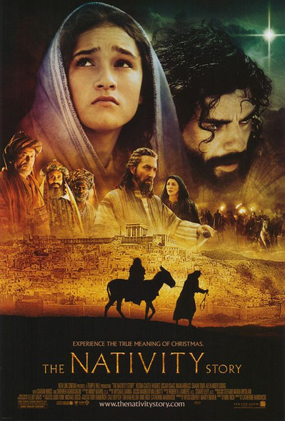 THE NATIVITY STORY (DOUBLE SIDED Regular) (2006) ORIGINAL CINEMA POSTER