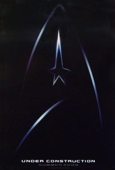 STAR TREK XI (2009) (Single Sided Mini Advance Style B) (2009) Original Mini CINEMA POSTER