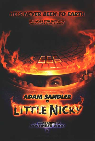 LITTLE NICKY (DOUBLE SIDED Advance) (2000) ORIGINAL CINEMA POSTER