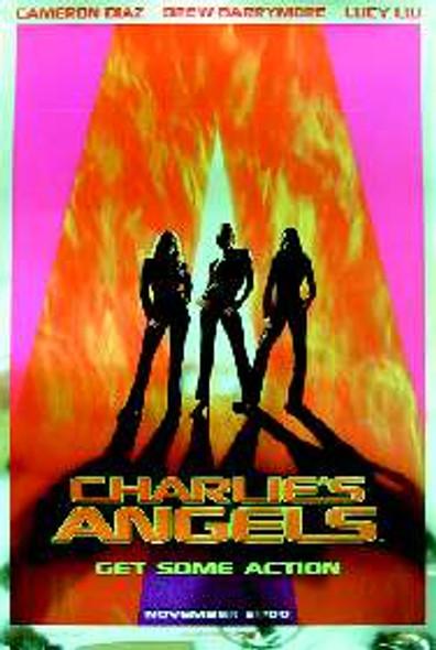 CHARLIE'S ANGELS (Advance) (FOIL FINISH) (2000) ORIGINAL CINEMA POSTER