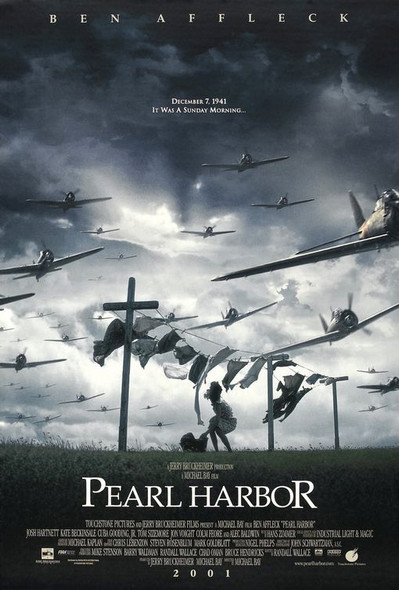 PEARL HARBOR (International Advance) (2001) ORIGINAL CINEMA POSTER