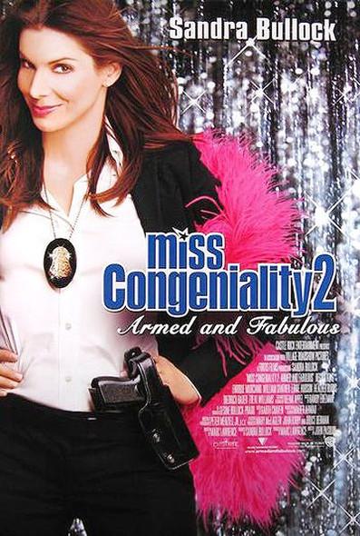 MISS CONGENIALITY 2 (DOUBLE SIDED International) (2005) ORIGINAL CINEMA POSTER