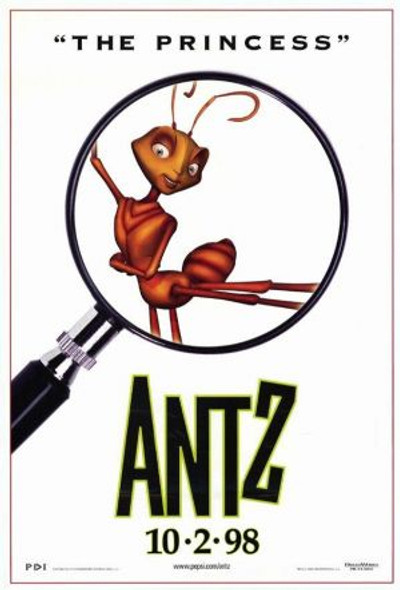ANTZ (1998) ORIGINAL CINEMA POSTER