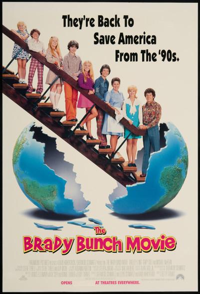 HE BRADY BUNCH (1995) ORIGINAL CINEMA POSTER