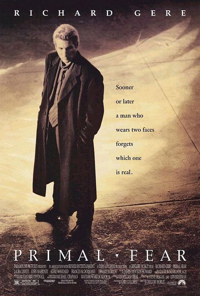Primal Fear (Double Sided) (1996) Original Cinema Poster
