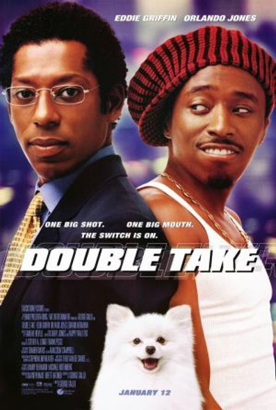 DOUBLE TAKE (DOUBLE SIDED Regular) (2001) ORIGINAL CINEMA POSTER