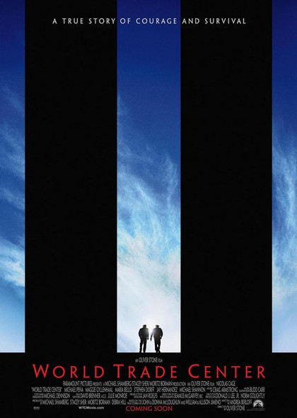 WORLD TRADE CENTER (Double-sided Advance) (2006) ORIGINAL CINEMA POSTER