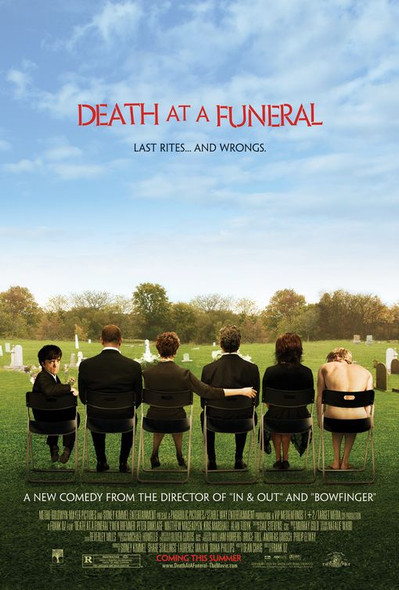 DEATH AT A FUNERAL (DOUBLE SIDED Regular) (2007) ORIGINAL CINEMA POSTER