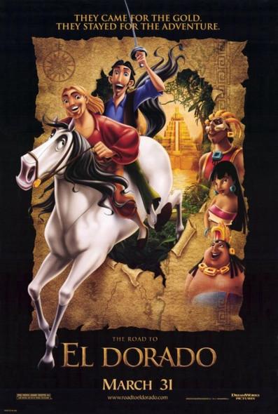THE ROAD TO ELDORADO (2000) ORIGINAL CINEMA POSTER