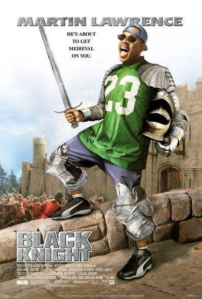 BLACK KNIGHT (2001) ORIGINAL CINEMA POSTER