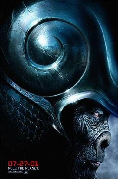 PLANET OF THE APES 2001 (German) (2001) ORIGINAL CINEMA POSTER