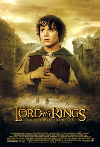 THE LORD OF THE RINGS: THE TWO TOWERS (Frodo Reprint) (2002) REPRINT CINEMA POSTER