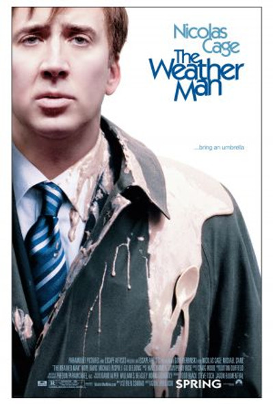 THE WEATHER MAN (DOUBLE SIDED Regular) (2005) ORIGINAL CINEMA POSTER