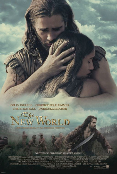 THE NEW WORLD (DOUBLE SIDED Regular) (2005) ORIGINAL CINEMA POSTER