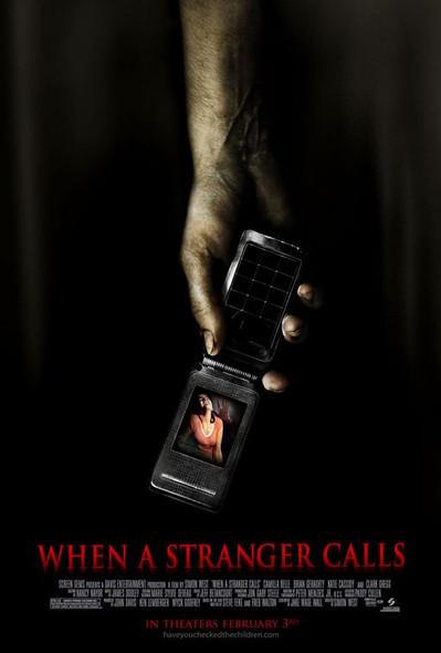 WHEN A STRANGER CALLS (Single-sided Regular) (2006) ORIGINAL CINEMA POSTER