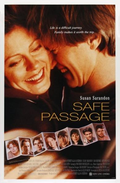 SAFE PASSAGE (1994) ORIGINAL CINEMA POSTER
