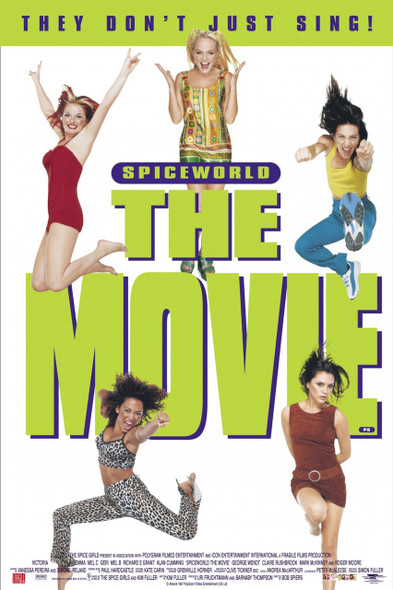 SPICE WORLD THE MOVIE (Advance) (1997) ORIGINAL CINEMA POSTER