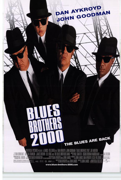 BLUES BROTHERS 2000 (1998) ORIGINAL CINEMA POSTER