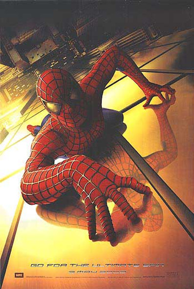 SPIDERMAN (Advance) (UV Coated High Gloss) (2002) ORIGINAL CINEMA POSTER