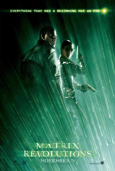 The Matrix Revolutions Morpheus & Trinity Reprint Cinema Poster