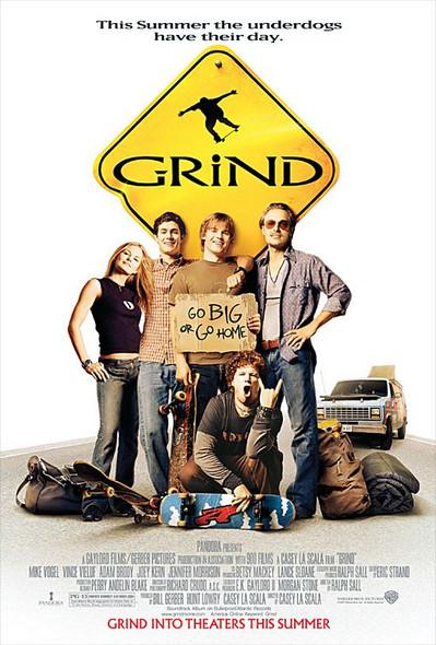 GRIND (DOUBLE SIDED Regular) (2003) ORIGINAL CINEMA POSTER