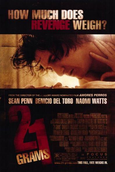 21 GRAMS (SINGLE SIDED Regular Style A) (2003) ORIGINAL CINEMA POSTER