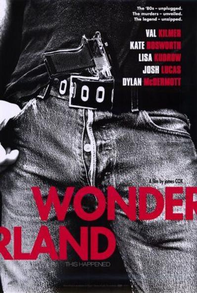WONDERLAND (SINGLE SIDED Advance Purple) (2003) ORIGINAL CINEMA POSTER
