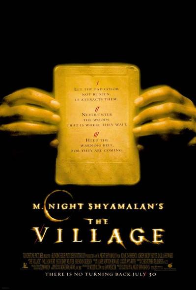 THE VILLAGE (DOUBLE SIDED Regular) (2004) ORIGINAL CINEMA POSTER