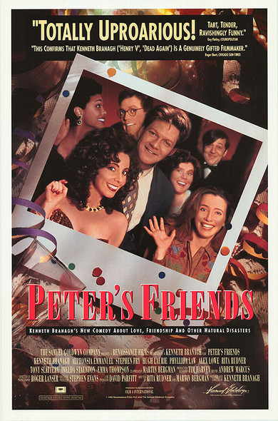 PETER'S FRIENDS (1992) ORIGINAL CINEMA POSTER