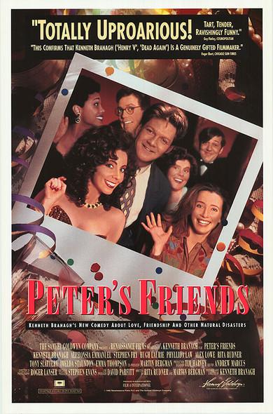PETER'S FRIENDS (1992) ORIGINAL CINEMA POSTER