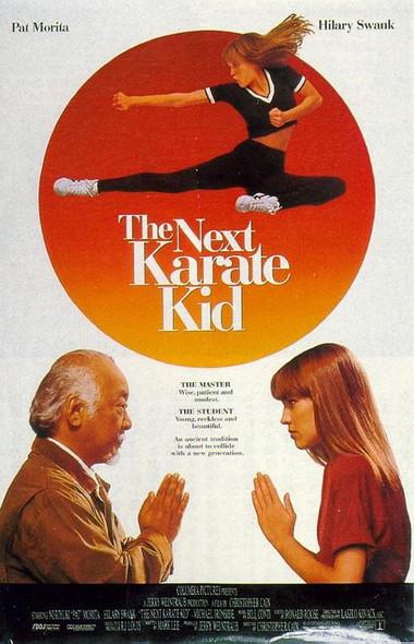 THE NEXT KARATE KID (1994) ORIGINAL CINEMA POSTER