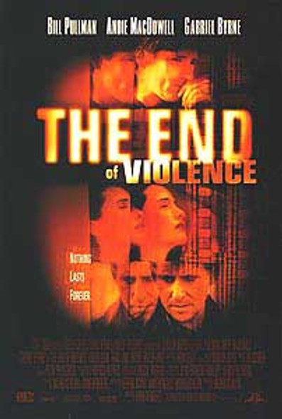 THE END OF VIOLENCE (1997) ORIGINAL CINEMA POSTER