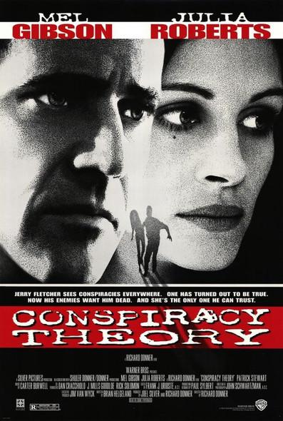 CONSPIRACY THEORY (Video) (1997) ORIGINAL CINEMA POSTER