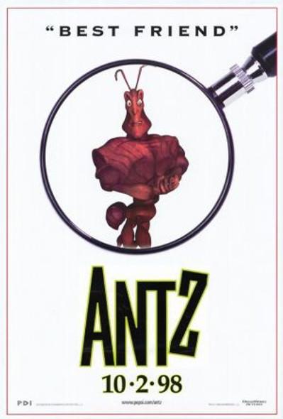 ANTZ (SINGLE SIDED Regular Style B) (1998) ORIGINAL CINEMA POSTER