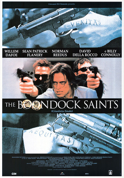BOONDOCK SAINTS (Style B Reprint) (1999) REPRINT CINEMA POSTER