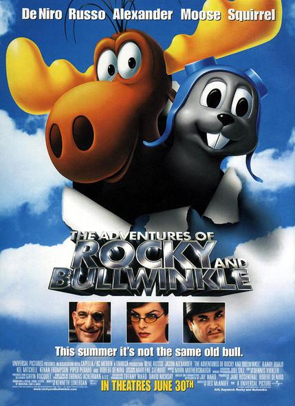 THE ADVENTURES OF ROCKY & BULLWINKLE (Advance) (2000) ORIGINAL CINEMA POSTER