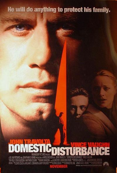 DOMESTIC DISTURBANCE (2001) ORIGINAL CINEMA POSTER