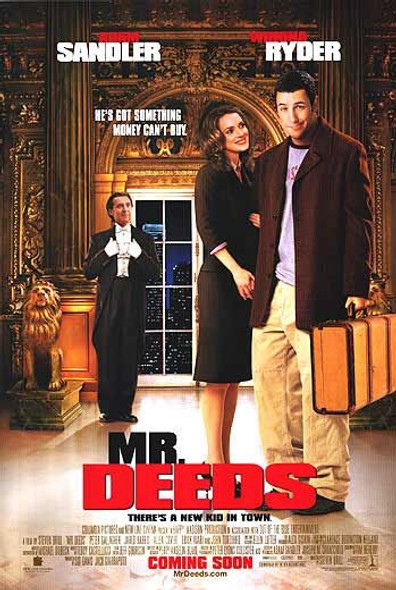 MR. DEEDS (Style C DOUBLE SIDED) (2002) ORIGINAL CINEMA POSTER