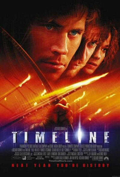 TIMELINE (SINGLE SIDED Regular) (2003) ORIGINAL CINEMA POSTER