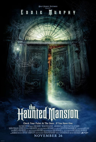 THE HAUNTED MANSION (DOUBLE SIDED Regular) (2003) ORIGINAL CINEMA POSTER
