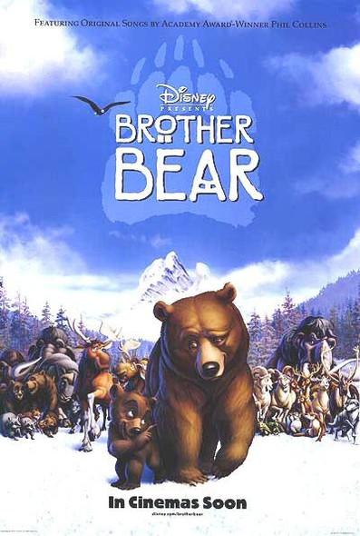 BROTHER BEAR (DOUBLE SIDED International) (2003) ORIGINAL CINEMA POSTER