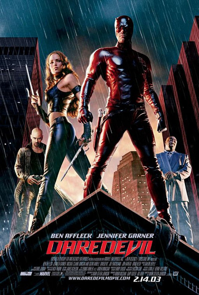 DAREDEVIL (DOUBLE SIDED Regular) (2003) ORIGINAL CINEMA POSTER